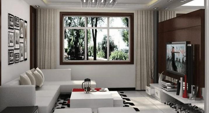 Design Furnitur Didalam Area Ruangan Studio Yang Menarik